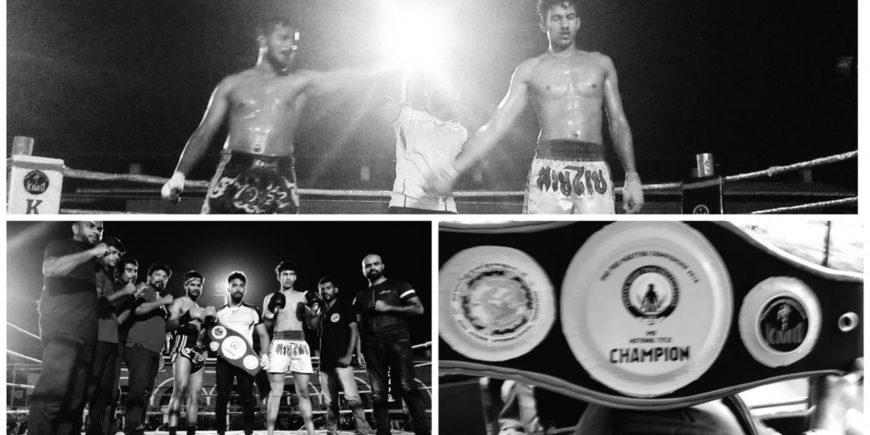 Pro Muay Thai Champion of INDIA
